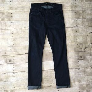 7FAM Slimmy LuxePerformance High Rise Skinny Jeans